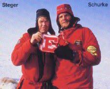 Will Steger and Paul Schurke