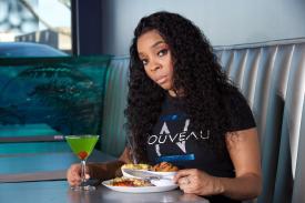 Ebony Austin of Nouveau Bar & Grill