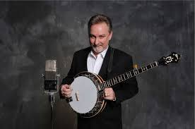 Charlie Cushman with a banjo
