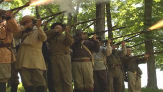 Battle of Black Jack Reenactors