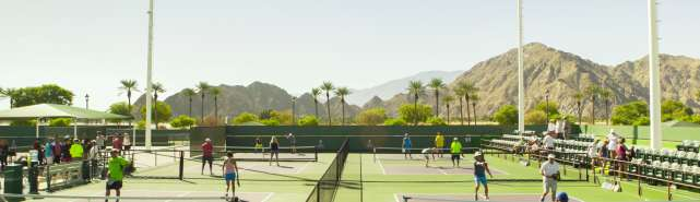 Pickleball at Indian Wells Tennis Garden