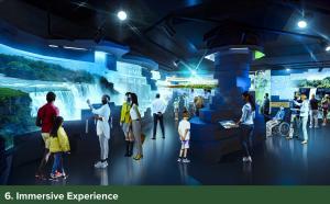 Niagara Falls Visitors Center - Immersive Experience
