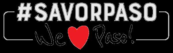 Savor Paso Heart Logo