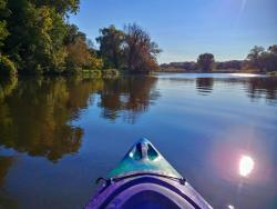 on the Fox River Water Trail