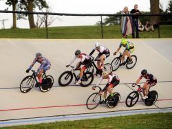 bike races at Washington Park Velodrome
