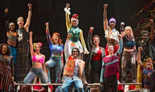 A scene fro Rent
