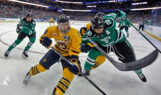 2017 Frozen Four - Homepage action