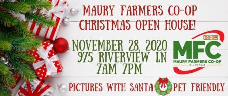 Maury Farmers Co-op Christmas Open House