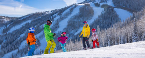 Family Skiing Steamboat Resort
