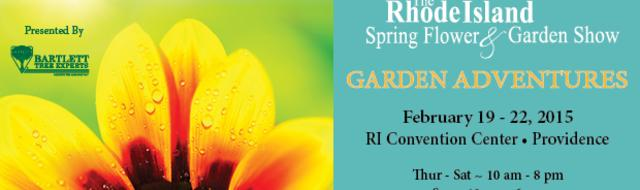 While the Rhode Island Spring Flower & Garden Show opens to the public on Thursday, February 19,