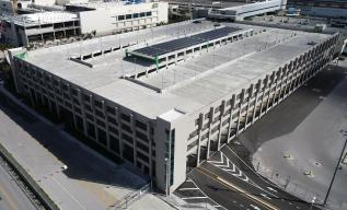 The new 1,818 space Heron Garage will serve Terminal 2 and 4