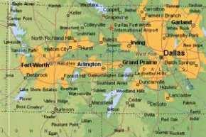 Map Of Texas Attractions.Texas Live Entertainment Complex Arlington Texas