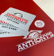 Anthony's Gift Card