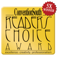 Convention South 5X winner seal