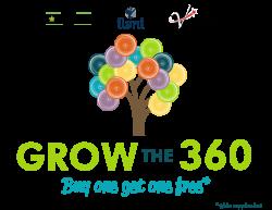 Grow the 360 logo