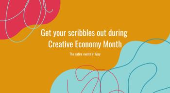 2021 Creative Economy Month Facebook Graphic