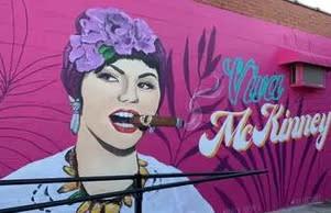 Guava Tree Mural