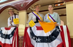 GVRR: Women's Suffrage Victory Train