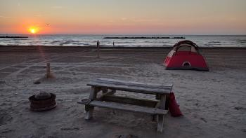 Grand Isle Camping in Jefferson Parish