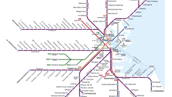 Interactive Boston Subway Map.Mapexplorer