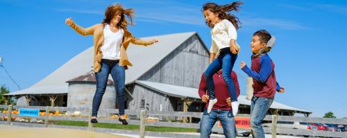 Fall Family Fun at Beasley's Orchard in Danville, Indiana