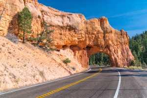 Utah Scenic Byway 12 Tunnel