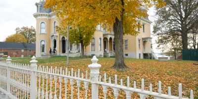 Culbertson Mansion - Fall