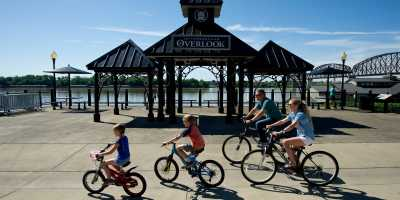 riverside bicycling