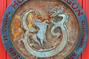 Horse and Dragon Logo
