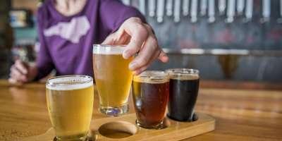 Hi Wire Beer Flight