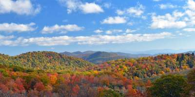 Asheville Blue Ridge Mountains Fall