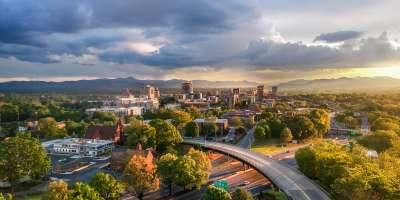 Downtown Asheville Skyline