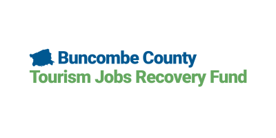 Buncombe County Tourism Jobs Recovery Fund logo