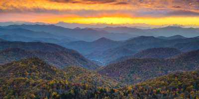 Autumn glory in the Smokies