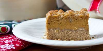 Creamy Pumpkin Pie Bars #Recipe | ExploreAsheville.com