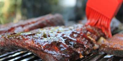 New Albany blues fest barbecue image