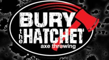 bury the hatchet logo