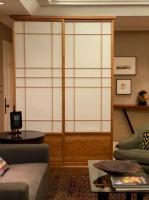 Shoji screen by Brian Holcombe Woodworker LLC in Princeton