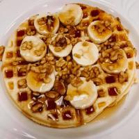 Home Sweet Home Cafe Banana Nut Waffle