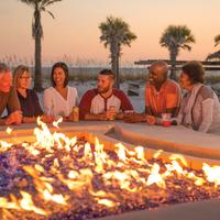 Fire Pit With Friends