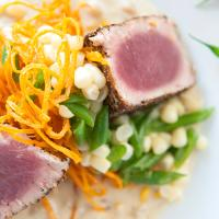 Tuna dish at Global Grill