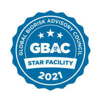 Global Biorisk Advisory Council Star Facility badge