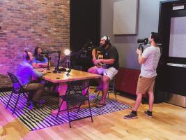 BeachBilly podcast recording