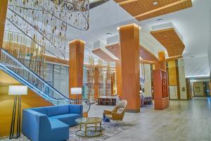 Lobby Seating Area at JW Marriott Anaheim Resort