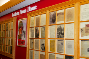 Letters From Home Wall at Military Heritage Museum