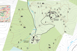 King's Gap Environmental Education Center Map