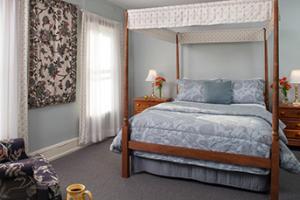 Bedroom at the Carlisle House B&B