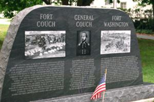 Fort Couch, Fort Washington and General Couch Monument In Lamoyne, PA