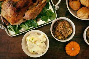 Thanksgiving Dinner Unsplash