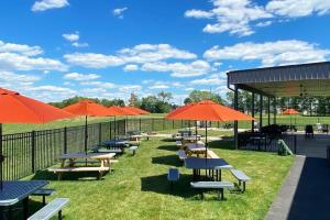 Outdoor Seating At Wolf Brewing Co. In The Cumberland Valley